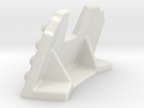 Firing Position in White Natural Versatile Plastic