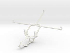 Controller mount for Steam & Dell Venue 8 Pro - Fr in White Natural Versatile Plastic