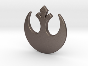 NEW! Rebels NUT, for M6 x1 Screw in Polished Bronzed Silver Steel
