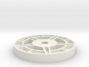 1/16 Idler Wheel E-100  Part 3 in White Strong & Flexible