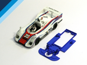 1/32 Spirit Porsche 936 Chassis for Slot.it pod in White Natural Versatile Plastic