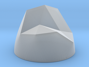Pen & Paper Rock for 1 Inch field in Smooth Fine Detail Plastic