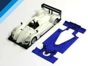 1/32 Ninco Acura Chassis for NSR motor mount in White Natural Versatile Plastic