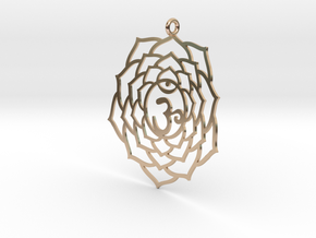 Crown Chakra Necklace in 14k Rose Gold
