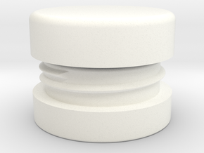Smallest Lip Balm Container in White Processed Versatile Plastic