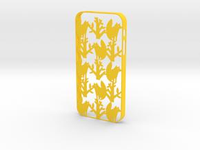 Fox iPhone5/5S case in Yellow Processed Versatile Plastic