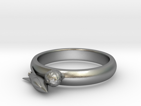 Moon Rocket Ring S 9 2015 in Natural Silver