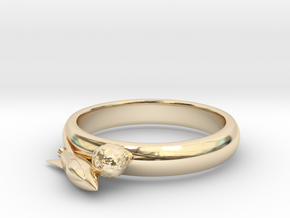 Moon Rocket Ring S 6 2015 in 14K Yellow Gold
