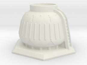 6mm Scale Storage Tank in White Natural Versatile Plastic