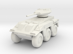 GV15 M237 Fighting Vehicle (28mm) in White Strong & Flexible