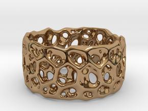 Frohr Design Bracelet Radiolaria Light in Polished Brass