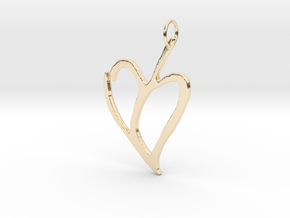 Heart 1 in 14K Yellow Gold