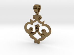 CODE: SL02FE - PENDANT in Polished Bronze