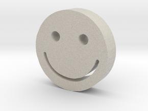 Smiley in Natural Sandstone