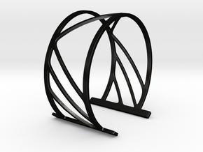 Subgeometric 2_Medium in Matte Black Steel