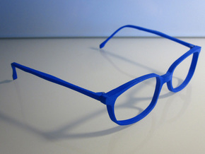unisex glasses - type 1 in White Natural Versatile Plastic