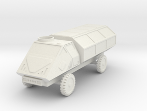 GV18 Light Tactical Truck (LTT) (28mm) in White Strong & Flexible