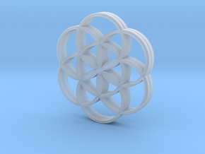Flower of Life is the source of the universe in Smooth Fine Detail Plastic