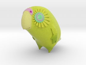 Kakapo Child (34mm) in Full Color Sandstone