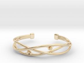 Pearl Bracelet in 14K Yellow Gold