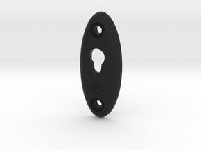 Speaker Hanger in Black Natural Versatile Plastic