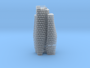 Decryption Tower 64th Scale  in Smooth Fine Detail Plastic