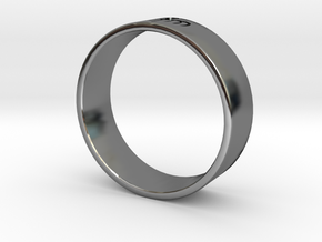 James Bond: Spectre Ring  - Size 12 in Fine Detail Polished Silver