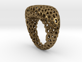 Swing ring T20 in Polished Bronze