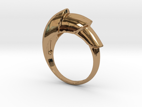 Nautical_Ring in Polished Brass