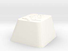 Christmas Tree Keycap Cherry Mx in White Processed Versatile Plastic