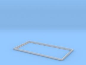 1:24 Heywood Small Platform Rim in Smooth Fine Detail Plastic