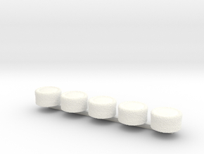 Cosack T2 in White Processed Versatile Plastic
