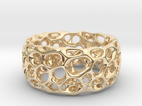 Frohr Design Radiolaria XL in 14K Yellow Gold