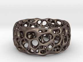 Frohr Design Radiolaria XL in Polished Bronzed Silver Steel
