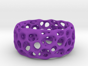 Frohr Design Radiolaria XL in Purple Processed Versatile Plastic