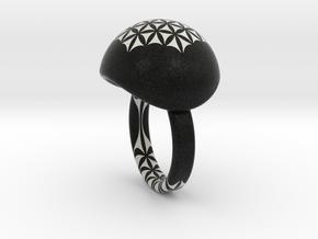 VESICA PISCIS Ring Nº28 in Full Color Sandstone