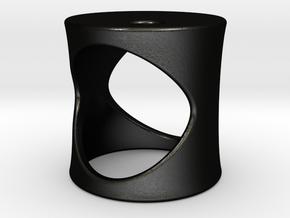 Midnight Sun - Size S in Matte Black Steel