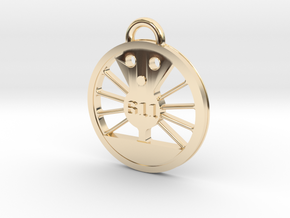 J Class Driver 611 in 14K Yellow Gold