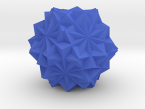 10 Cube Compound, Solid in Blue Processed Versatile Plastic