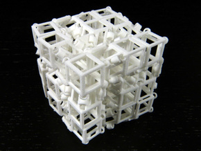 Jitterbox 3x3x3 in White Strong & Flexible