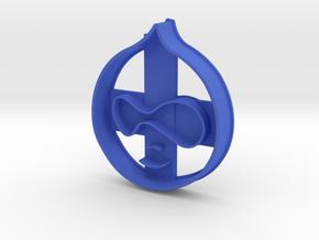 Drupalcookie in Blue Processed Versatile Plastic