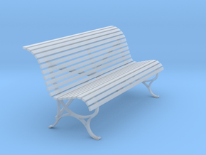 RhB Bench - old type in Smooth Fine Detail Plastic