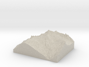 Model of The Hourglass in Sandstone