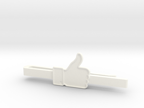 THUMBS UP in White Processed Versatile Plastic