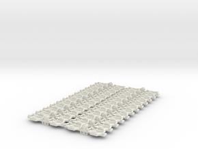 Bp50a C in White Natural Versatile Plastic