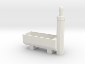 RhB Fountain - Without Spout And Drain in White Natural Versatile Plastic