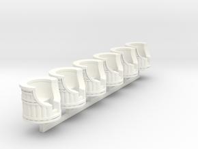 Loonylagoon   in White Processed Versatile Plastic