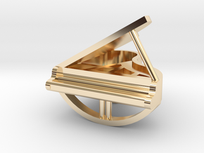 Grand piano pendant in 14k Gold Plated