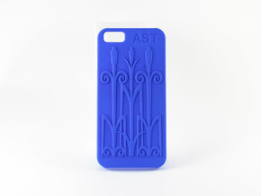iPhone 6 Case in Blue Strong & Flexible Polished