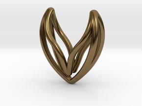 sWINGS Hearty. Pure, Fine, Elegance. in Polished Bronze